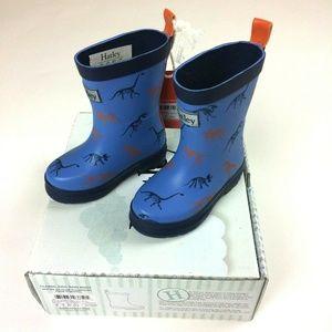 Hatley Toddler US 5 Dinosaur Classic Rain Boots